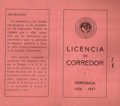 1957-Licencia Corredor JOSE GOMEZ DEL MORAL0001