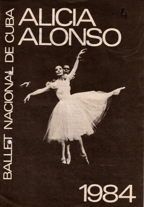 1984-Ballet Nacional de Cuba
