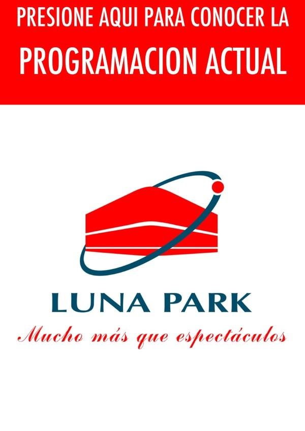 LUNA PARK PROGRAMACIÓN ACTUAL