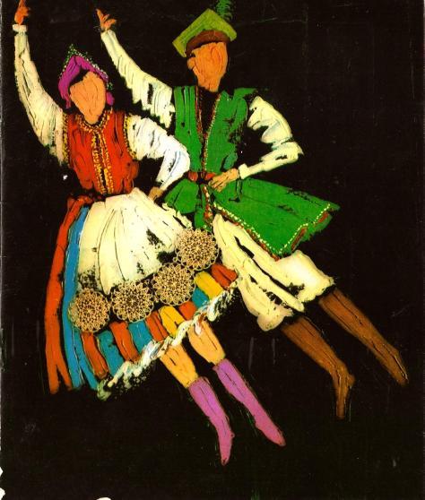 1977-Programa de Show. Danzas populares de Polonia- Mazowsze0001