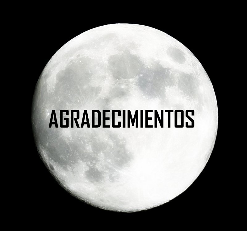 Agradecimientos
