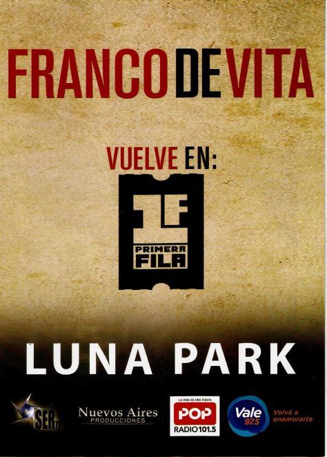 Franco De Vita 21-11